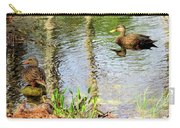 Mottled Duck Pair Carry-all Pouch