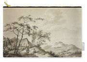 Mountainous Landscape With Three Ramblers Carry-all Pouch