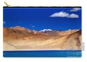 Mountains And Rocks Pangong Tso Lake Leh Ladakh Jammu Kashmir India Carry-all Pouch