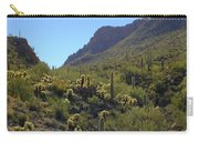 Mountains And Valleys Carry-all Pouch
