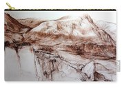 Mountains In Snowdonia Carry-all Pouch