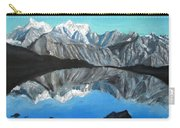 Mountains Landscape Acrylic Painting Carry-all Pouch