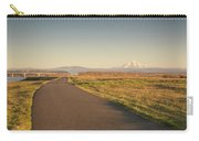 Mt Hood Sunset Carry-all Pouch