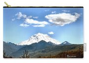Mt Rainier Washington Carry-all Pouch