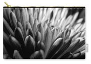 Monochrome Flower Series - Mumz The Word Carry-all Pouch