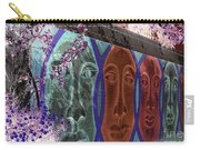 Mural Faces Carry-all Pouch