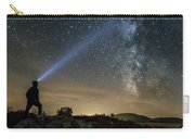 Mushroom Rocks Phenomenon Under The Night Sky Carry-all Pouch