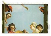 Musical Group On A Balcony Carry-all Pouch