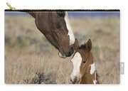 Mustang Mare And Foal Carry-all Pouch