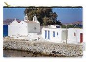 Mykonos Church Carry-all Pouch
