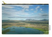 Beautiful Myvatn, Iceland Carry-all Pouch