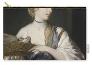 Nancy Reynolds With Doves Carry-all Pouch