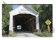 Nevins Covered Bridge Indiana Carry-all Pouch