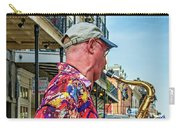 New Orleans Jazz Sax Carry-all Pouch