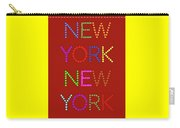 New York No 1 Carry-all Pouch