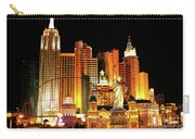 New York New York Hotel Carry-all Pouch