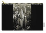 New York Woolworth Building - Vintage Photo Art Print Carry-all Pouch