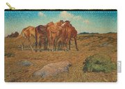 Nils Kreuger,  A Drove Of Horses Carry-all Pouch