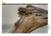 Gull On Driftwood Carry-all Pouch