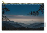 Misty Blue Shades Of Generals Highway 1 Carry-all Pouch