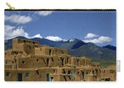 North Pueblo Taos Carry-all Pouch by Kurt Van Wagner