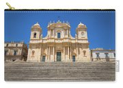 Noto, Sicily, Italy - San Nicolo Cathedral, Unesco Heritage Site Carry-all Pouch