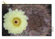 Notocactus Mammulosus Yellow Cactus Flower Carry-all Pouch