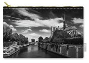 Notre Dame Cathedral And The River Seine - Paris Carry-all Pouch