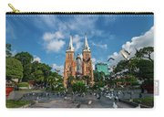 Notre-dame Cathedral Basilica Of Saigon, Officially Cathedral Basilica Of Our Lady Of The Immaculate Carry-all Pouch