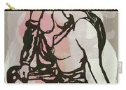 Nude - Pop Art Etching Poster Carry-all Pouch