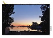 Obear Park And The Danvers River At Sunset Carry-all Pouch