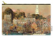 October Sundown Carry-all Pouch by Childe Hassam