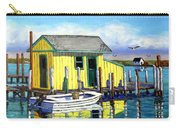 Old Crab Yellow Shacks Of Tangier Island Carry-all Pouch