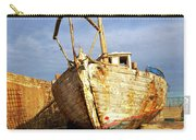 Old Dilapidated Wooden Boat  Carry-all Pouch