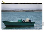 Old San Juan Puerto Rico Local Boats Carry-all Pouch