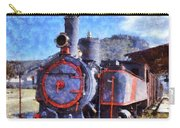 Old Steam Train In Nafplio Town Carry-all Pouch