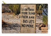 Old Tucson Graveyard Carry-all Pouch
