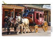 Old Tucson Stagecoach Carry-all Pouch