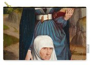 Old Woman At Prayer With St. Anne Carry-all Pouch