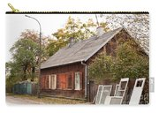 Old Wooden House With Tar Carry-all Pouch