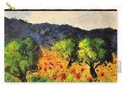 Olive Trees And Poppies  Carry-all Pouch