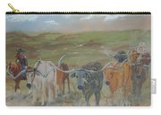On The Chisholm Trail Carry-all Pouch