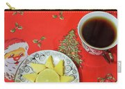 On The Eve Of Christmas. Tea Drinking With Cheese. Carry-all Pouch