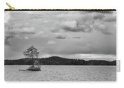 One Pine Island. Bw. Koirajarvi Carry-all Pouch