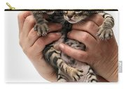 One Week Old Kittens Carry-all Pouch