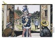 Open Door Cartoon, 1900 Carry-all Pouch