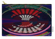 Opposit Arc Pattern Abstract Digital Graphic Art Interior Decorations Buy Painting Print Poster Pill Carry-all Pouch by Navin Joshi