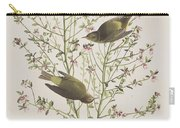 Orange Crowned Warbler Carry-all Pouch