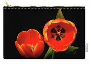 Orange Tulip Macro Carry-all Pouch