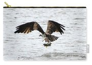 Osprey Fishing In The Afternoon Carry-all Pouch